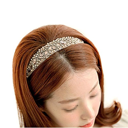 Zoom IMG-1 tininna mano pizzo strass hairband