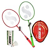 #9: Silver's JUNIOR JB-190 COMBO2 Badminton Kit