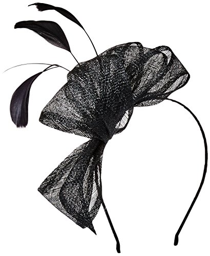scala-classico-damen-schleife-und-federn-spray-fascinator-haarband-gr-einheitsgrosse-schwarz