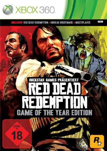 Red Dead Redemption - Game of the Year Edition - [Xbox 360] (Coole Xbox 360)