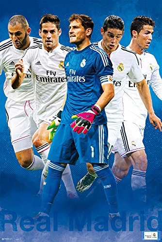 Empireposter - Real Madrid - Grupo 1 - 2014/2015 - Größe (cm), ca. 61x91,5 - Poster - 2014-poster Madrid Real