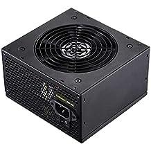 TooQ TQEP-550SP - Fuente de Alimentacion Ecopower II de 550W con PFC Ac tivo, Ventilador silencioso de 120mm con control automatico de velocidad, (ATX 12V V2.3, CE/RoHS, cables extra-largos, color negro)