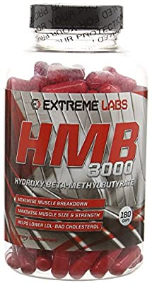 Extreme Labs HMB Testosterone Booster - Pack of 180 Capsules from Extreme Labs