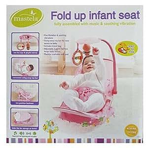 MASTELA FOLD UP INFANT SEAT - 07215 (PINK)