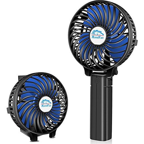 Ventilador pequeño de Mano, Ventilador Manual/Ventilador de Escritorio/Ventilador eléctrico operado por USB...
