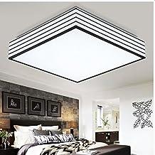 XMZ Vintage Retro Lámpara de techo colgante contemporáneo tonos plafones,50cm luz cálida12W