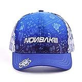 Nonbak gorra cap trucker HAWAII transpirable logo 3D. Muy ligera 6 paneles (Azul- blue)