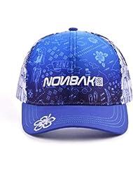 1773e025976c0 Nonbak gorra cap trucker HAWAII transpirable logo 3D. Muy ligera 6 paneles  (Azul-