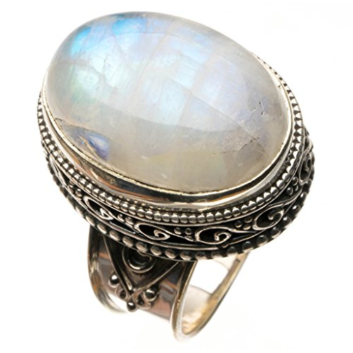 stargemstm-natural-top-quality-rainbow-moonstone-vintage-925-sterling-silver-ring-uk-size-s