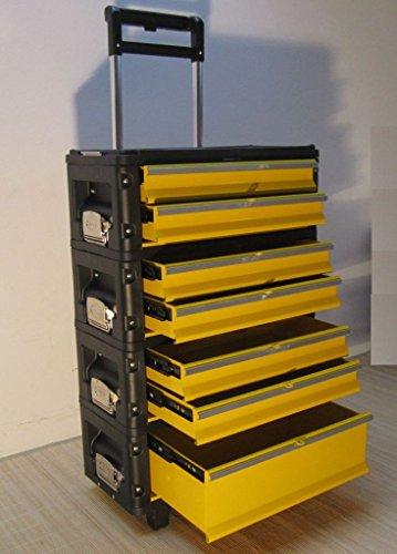 Preisvergleich Produktbild Metall Werkzeugtrolley XXL Type 305BBBC -> jetzt neu mit Schubladenverriegelung und Schloss von AS-S