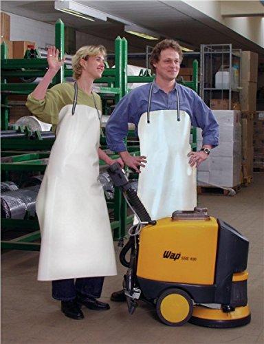 Preisvergleich Produktbild PVC-Säureschürze weiß S.0,5mm