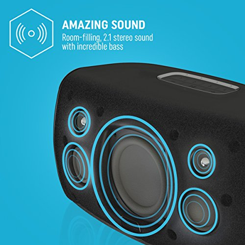 Jam Audio Symphony Wireless Wi-Fi Speaker w/ Amazon Alexa Voice