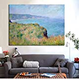 RTCKF Art Voile Nordic Mur Image Bateau Mer Peinture sur Toile pour Le Salon Décoration (Pas De Cadre) A3 60x90CM