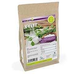 Xylit 1000g   Birkenzucker aus Finnland   1er Pack (1000g)   im Zippbeutel   Premium Qualität