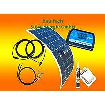 100 Watt Flexi Wohnmobil Camping Solaranlage, 12 Volt SET, von bau-tech Solarenergie GmbH