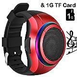 Die besten Reise-Uhren - Bluetooth Lautsprecher Uhr, frewico x10, tragbar outdoor Sport Bewertungen