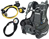 Cressi Start Scuba Diving Set - B.C.D. Start+1st Stage AC2+2nd Stage Compact+Octopus Compact+ Instrument Pressure Gauge