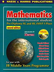 Pre Diploma SL and HL (MYP5 Plus): Mathematics for the International Student