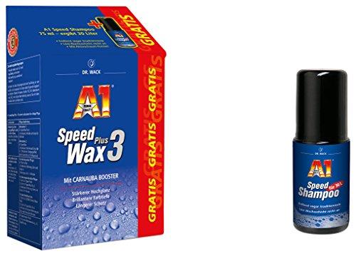 Preisvergleich Produktbild A1 Speed Wax Plus 3,  500 ml inkl. GRATIS A1 Speed Shampoo,  75 ml( 27301)