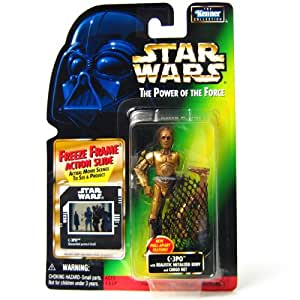 Star Wars, The Power of the Force, C-3PO with Cargo Net