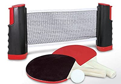 Funmate Instant Table Tennis Set with Reusable net - low-cost UK light shop.