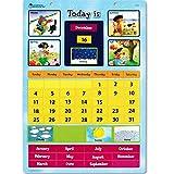 Learning Resources- Calendario didáctico magnético, Color (LER0504)