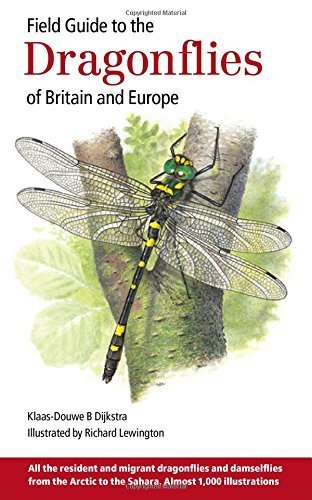 Field Guide to the Dragonflies of Britain and Europe by Dijkstra, Klaas-Douwe B (2006) Paperback