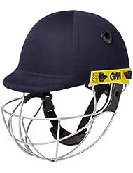 Gunn and Moore Icon Geo–Casco de críquet Senior, casco, Unisex, color azul, tamaño small