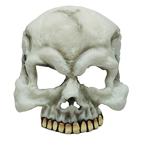 (Bristol Novelty bm385 Glow in the Dark Skull Halbmaske, One size)