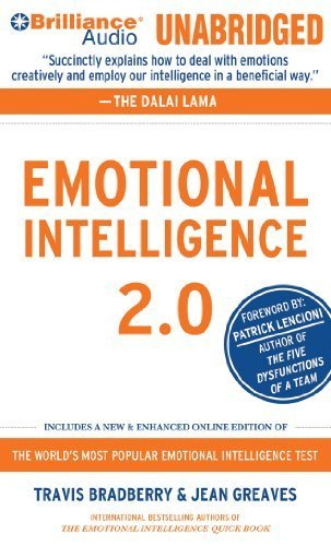 Emotional Intelligence 2.0 Unabridged by Bradberry, Travis, Greaves, Jean (2010) Audio CD