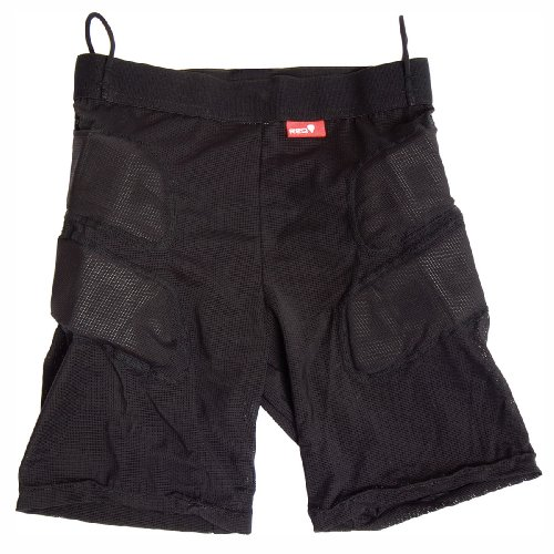 Protector Red Impact Short black M -