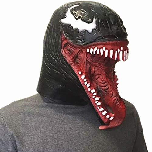 SHIYAREN Halloween-MaskeErstaunliche - Gummi Spider Mann Kostüm