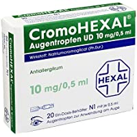 CromoHexal Augentropfen UD, 20 St. Lösung preisvergleich bei billige-tabletten.eu