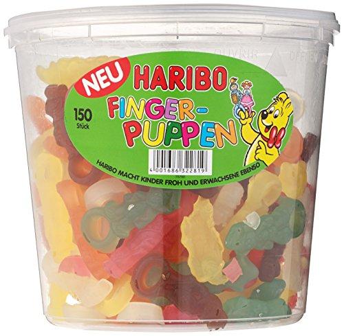 Preisvergleich Produktbild HARIBO Finger-Puppen Stückartikel Runddose,  3er Pack (3 x 1.35 kg)