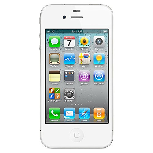 Apple iPhone 4S Single SIM 16GB Weiß - Smartphones (8,89 cm (3.5 Zoll), 16 GB, 8 MP, iOS, 5, Weiß)