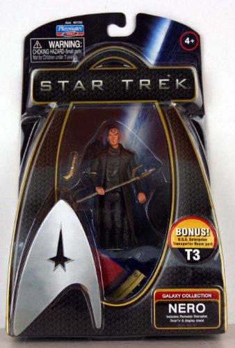 Star Trek - Movie 2009 - Galaxy Collection - NERO - 3 3/4 Inch /ca. 10cm Action Figur - incl. U.S.S. Enterprise / Transporter Room Teil T3 - OVP
