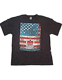 Space Invaders USA Flag - Official Mens T Shirt