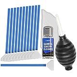 VSGO & de nettoyage pour appareil photo, capteur de conférence pour 6/12 kit de nettoyage chiffon sec, 12 à 24 mm x 15 ml, poire, chiffon de nettoyage