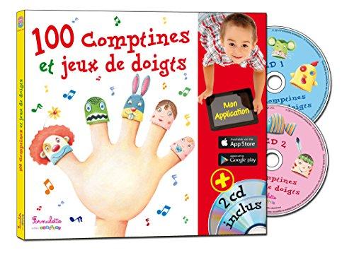 100 comptines et jeux de doigts (2CD audio) par Rémi Guichard