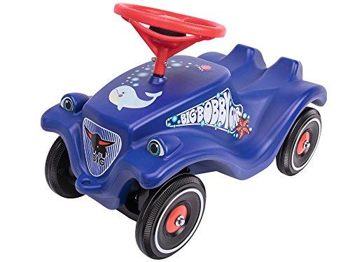 BIG Spielwarenfabrik 800056109  Bobby-Car-Classic Ocean & Polis Kinderfahrzeug, blau