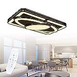 LeMeiZhiJia 88W Schwarz Kinderzimmer Beleuchtung Raumfahrzeug Modellierung - Mädchen/Junge Studie LED Deckenleuchte - für Club Kinder Schlafzimmer Esszimmer Wohnzimmer(88W, Dimmbar)