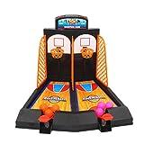 TOYMYTOY Mini Bounce Basket Machine Machine Giochi per bambini Shooting Board Game Super Slam Basketball Gioco da tavolo