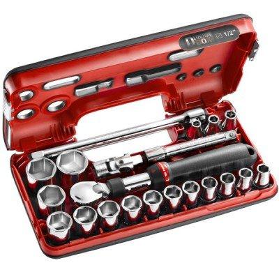 Coffret cliquet extensible 1/2 21 outils Facom