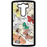Generic Plastic Anti-Knock Womon Phone Case Printing Butterfly 2 For Optimus G3 Lg