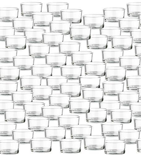 elichtgläser - Premium Qualität Made in Germany - Ideal für Teelichter, Kerzen und als Behälter ()