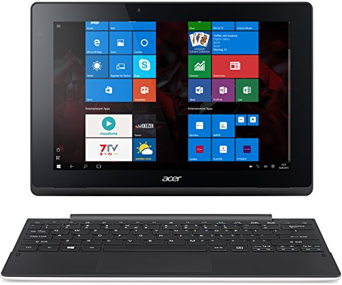 Acer Aspire Switch 10 E (SW3-013) 25,6 cm (10,1 Zoll HD IPS) Convertible Laptop (Intel Atom Z3735F, 2GB RAM, 32GB eMMC, Intel HD Graphics, Win 10 Home) weiß (Laptop-deckel Aspire Acer)