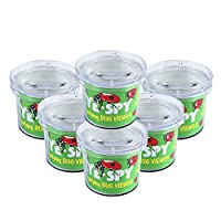 AlleTechPlus 6 Pack Kids Bug Catchers and Viewer Bug Cage with Magnifying Viewer for Children