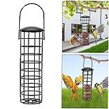Aisoway Vogelfutterspender Im Freien Hängenden Vogelfutterspender Metallgriff Für Garten-Baum Kombinierbar & Extensible