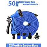 Best Pool Hoses - DFS 50 ft EXPANDIBLE HOSE PIPE NOZZLE Review