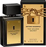 Antonio Banderas The Golden Secret 50ml Eau de Toilette Spray für Ihn & Geschenk Tasche